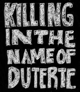 "The attraction in Hitler and Duterte's solution is its simplicity: there's the enemy, KILL IT. Duterte said,""Yung 1,000, (killed) magiging 100,000. Dyan mo makita tataba yung isda sa Manila Bay. Dyan ko kayo itapon""."