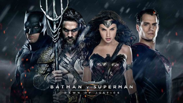 from left: Ben Affleck (Batman), Jason Momoa (Aquaman), Gal Gadot (Wonder Woman) & Henry Cavill (Superman). Catch BATMAN VS SUPERMAN DAWN OF JUSTICE in Eastwood City Mall, Lucky Chinatown Mall, Shang Cineplex- Shang Rila Plaza Mall and Newport Cinemas- Resort's World Manila.