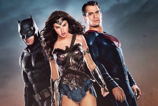 from left: Ben Affleck (Batman), Gal Gadot (Wonder Woman) & Henry Cavill (Superman). Catch BATMAN VS SUPERMAN DAWN OF JUSTICE in Eastwood City Mall, Lucky Chinatown Mall, Shang Cineplex- Shang Rila Plaza Mall and Newport Cinemas- Resort's World Manila.
