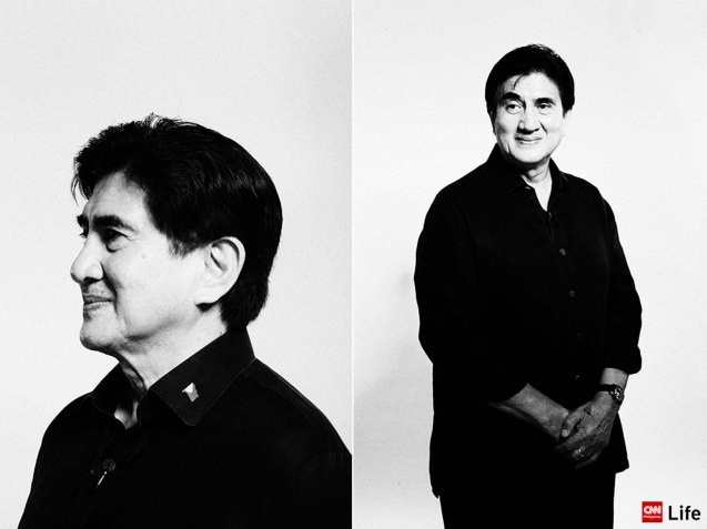 Sen. Gringo Honasan portrait; the VP PiliPINAS CNNphil debate was held at the UST Gymnasium last April 10, 2016. Photo from http://cnnphilippines.com/