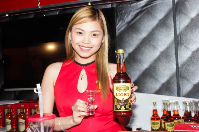 Tanduay Light - Tanduay is one of the oldest brands in the Philippines. Tanduay Distillers Inc. traces its history to as early as 1854 and still operates in Quiapo, the heart of Manila to this day. No wonder that it takes part in the city's colorful Grand Festival of Champions: ALIWAN. Photo By Jude Bautista