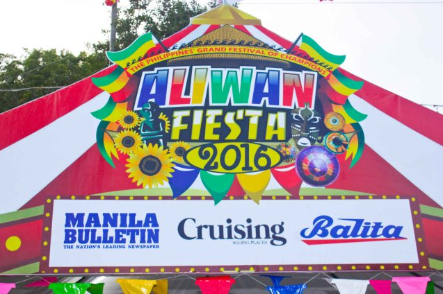 Manila Bulletin, Cruising, BALITA are media sponsors for ALIWAN 2016. Photo By Jude Bautista