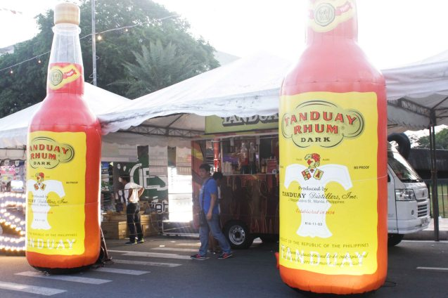 Tanduay Rhum Dark - Tanduay is one of the oldest brands in the Philippines. Tanduay Distillers Inc. traces its history to as early as 1854 and still operates in Quiapo, the heart of Manila to this day. No wonder that it takes part in the city's colorful Grand Festival of Champions: ALIWAN. Photo By Jude Bautista