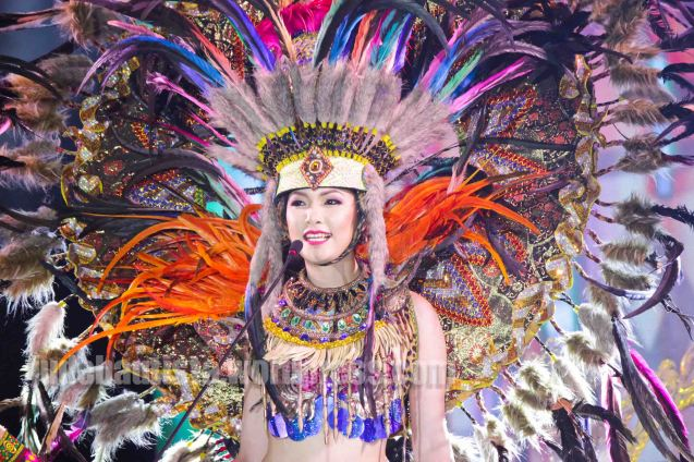#8 Airish Mae Yamamoto-ANILAG FESTIVAL (2nd Runner Up). ALIWAN held last April 14-16, 2016, is the Grand Festival of Champions showing the best of Philippine Fiestas from around the country. There are three main activities: Reyna Ng Aliwan Pageant, Street Dance and Float Competition.  It culminates in a grand parade from Quirino Grandstand going through Roxas Blvd to the Aliw Theater grounds in CCP. Photo By Jude Bautista