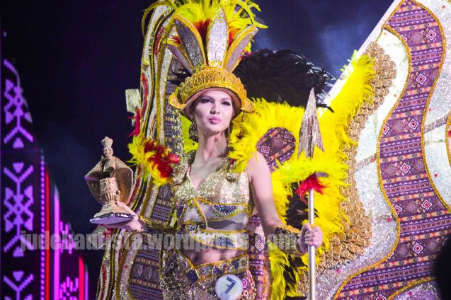#7 Jhoanne Tañada-DINAGYANG FESTIVAL. ALIWAN held last April 14-16, 2016, is the Grand Festival of Champions showing the best of Philippine Fiestas from around the country. There are three main activities: Reyna Ng Aliwan Pageant, Street Dance and Float Competition.  It culminates in a grand parade from Quirino Grandstand going through Roxas Blvd to the Aliw Theater grounds in CCP. Photo By Jude Bautista