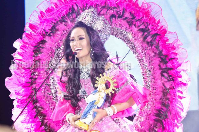 #12 May Anne Reyes-CANDLE FESTIVAL. ALIWAN held last April 14-16, 2016, is the Grand Festival of Champions showing the best of Philippine Fiestas from around the country. There are three main activities: Reyna Ng Aliwan Pageant, Street Dance and Float Competition.  It culminates in a grand parade from Quirino Grandstand going through Roxas Blvd to the Aliw Theater grounds in CCP. Photo By Jude Bautista