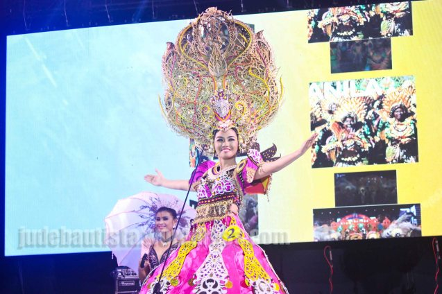 #2 Angelica Gabriel-DAYANG DAYANG FESTIVAL; ALIWAN held last April 14-16, 2016, is the Grand Festival of Champions showing the best of Philippine Fiestas from around the country. There are three main activities: Reyna Ng Aliwan Pageant, Street Dance and Float Competition.  It culminates in a grand parade from Quirino Grandstand going through Roxas Blvd to the Aliw Theater grounds in CCP. Photo By Jude Bautista