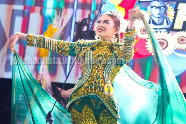 #3 Jeanebeth Sedavia- KALIVUNGAN FESTIVAL; ALIWAN held last April 14-16, 2016, is the Grand Festival of Champions showing the best of Philippine Fiestas from around the country. There are three main activities: Reyna Ng Aliwan Pageant, Street Dance and Float Competition.  It culminates in a grand parade from Quirino Grandstand going through Roxas Blvd to the Aliw Theater grounds in CCP. Photo By Jude Bautista