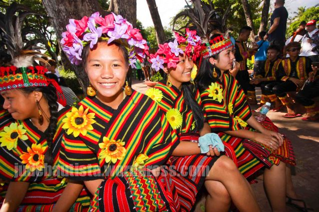 #3 Panagbenga Flower Festival of Baguio City Represented by Pinsao National High School won Best Folkloric Performance (P10,000). ALIWAN held last April 14-16, 2016, is the Grand Festival of Champions showing the best of Philippine Fiestas from around the country. There are three main activities: Reyna Ng Aliwan Pageant, Street Dance and Float Competition.  It culminates in a grand parade from Quirino Grandstand going through Roxas Blvd to the Aliw Theater grounds in CCP. Photo By Jude Bautista