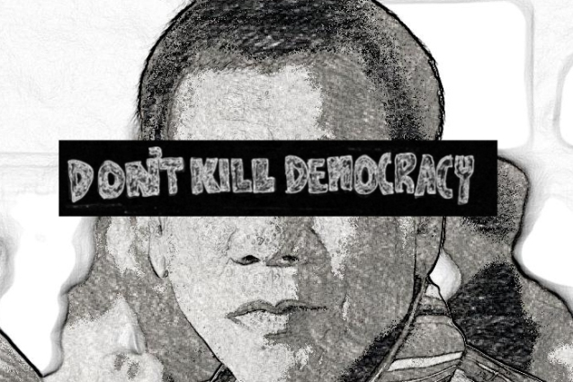Duterte has already become judge and juror by executing 'criminals', he has now stated that he would also shut down congress thereby killing democracy in our country.