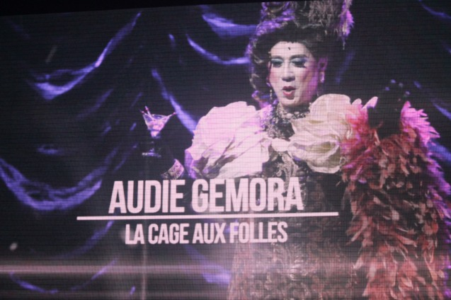 Audie Gemora – Male Lead Perf. In a Musical LA CAGE AUX FOLLES - The 8th Philstage Gawad Buhay was held at Onstage Greenbelt last April 28, 2016.