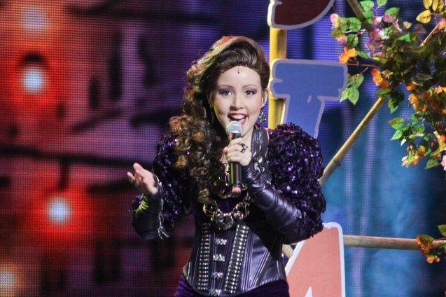 Cris Villonco (Lavinia Arguelles) Outstanding Female Featured Performance in a Musical; BITUING WALANG NINGNING ran at the Newport Performing Arts Theater, Resorts World Manila. Photo by Jude Bautista