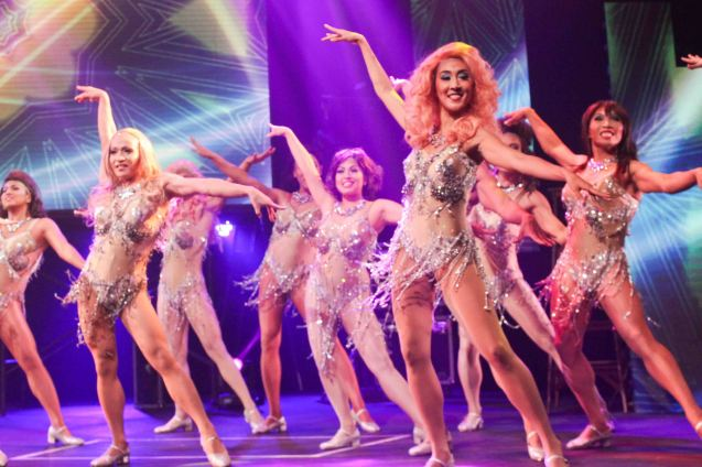 LA CAGE AUX FOLLES –Outstanding Prod of Existing Material. The 8th Philstage Gawad Buhay was held at Onstage Greenbelt last April 28, 2016. Photo by Jude Bautista