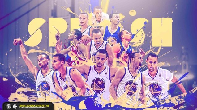 Stephen Curry Splash wallpaper by michaelherradura https://www.facebook.com/Samuel-and-Michael-NBA-Wallpapers-265350083609824/?ref=hl
