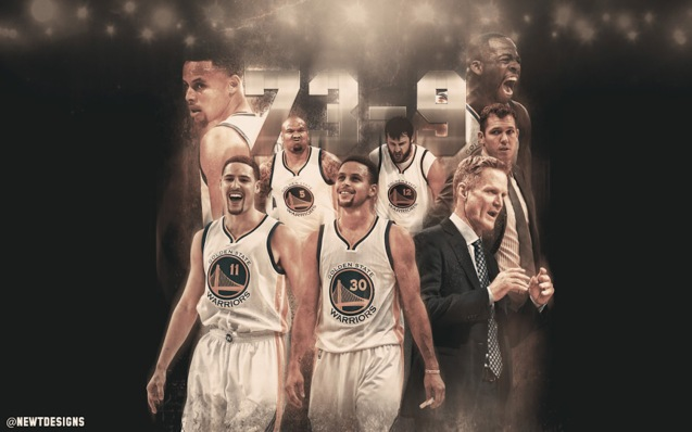 The Golden State Warriors had a record setting 73-9 game regular season http://www.basketwallpapers.com/USA/Golden-State-Warriors/