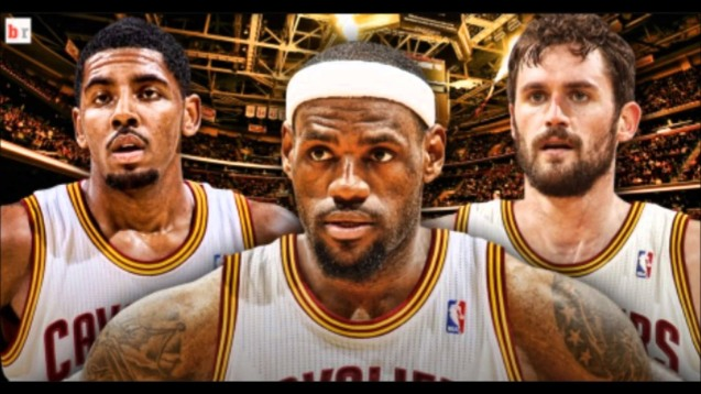 LBJ has Kyrie Irving & Kevin Love healthy for the 2016 NBA Finals. https://www.youtube.com/watch?v=W913tynF_S4