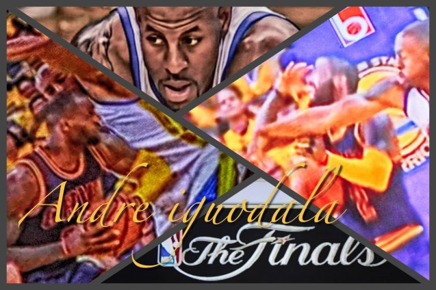 Andre Iguodala strips both LBJ & Kyrie Irving without fouling them. Wallpaper by Jude Bautista.