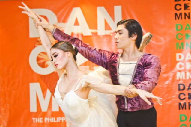 Ballet Manila's Joan Sia & Romeo Peralta with an excerpt from GISELLE. DANCE MNL press launch was held at Hotel Jen May 11, 2016. Dance MNL: The Philippine Dance Festival will run from June 14-20, 2016 at CCP, Aliw Theater and Star Theater. Photo by Jude Bautista