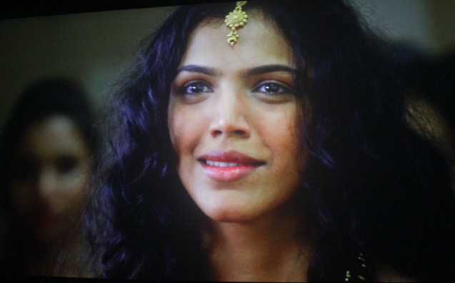 Ayanna (Shriya Pilgaonkar) in UN+UNE. Catch the 21st French Film Festival from June 8 to 14, 2016 at the Greenbelt 3 Cinemas and the Bonifacio High Street Cinemas. The fest includes Pinoy films IMBISIBOL & MANANG BIRING on June 12 at Greenbelt. Photo by Jude Bautista