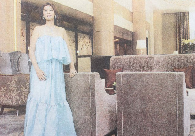 Mitzi Borromeo of CNN Philippines was featured in Phil Star's Women of Allure last May 29, 2016. Photo was taken at SHANG RILA Fort Bonifacio, Manila by Jo Ann Bitagcol.