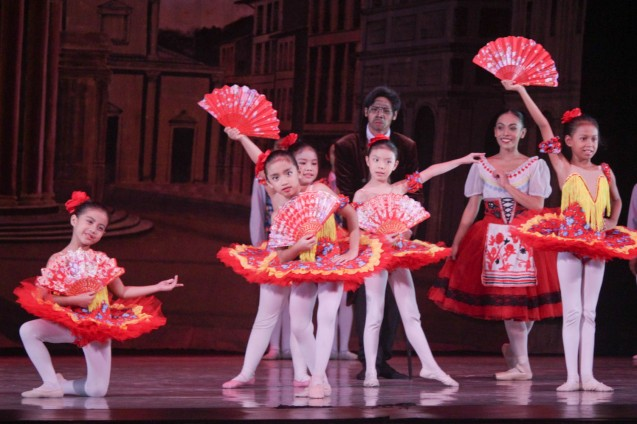 Young ballerinas performed for the 47th CCP Summer Dance Workshop at the CCP Main Theater last May 21, 2016. Photo by Jude Bautista