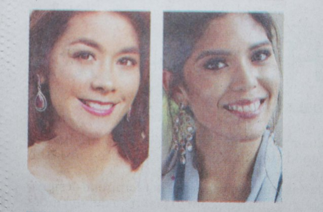 from left: Mitzi Borromeo & Ginger Conejero were part of Phil Star's Women of Allure in the May 29, 2016 issue. Photo was taken at SHANG RILA Fort Bonifacio, Manila.