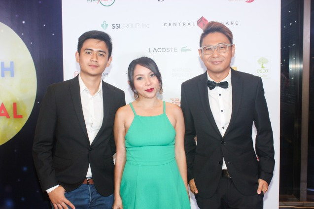 MA'ROSA stars from left: Jomari Angeles, Natileigh Sitoy and Screenwriter Troy Espiritu. Catch the 21st French Film Festival from June 8 to 14, 2016 at the Greenbelt 3 Cinemas and the Bonifacio High Street Cinemas. The fest includes Pinoy films IMBISIBOL & MANANG BIRING on June 12 at Greenbelt. Photo by Jude Bautista