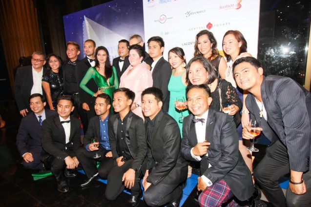 MA'ROSA cast standing from left: Larry Castillo, John Paul Duray, Maria Isabel Lopez, Mark Anthony Fernandez, (partially hidden) French Cultural Affairs Counselor Yves Zoberman, Jaclyn Jose, Jomari Angeles, Natileigh Sitoy, Cataleya Surio, Cindy Briones bottom row from left: Raymond Rinoza, Aaron Rivera, Carlo Valenzona, Luis Ruiz, Mac Mendoza, French Audio Visual Attaché Martin Macalintal and friend. Catch the 21st French Film Festival from June 8 to 14, 2016 at the Greenbelt 3 Cinemas and the Bonifacio High Street Cinemas. The fest includes Pinoy films IMBISIBOL & MANANG BIRING on June 12 at Greenbelt. Photo by Jude Bautista