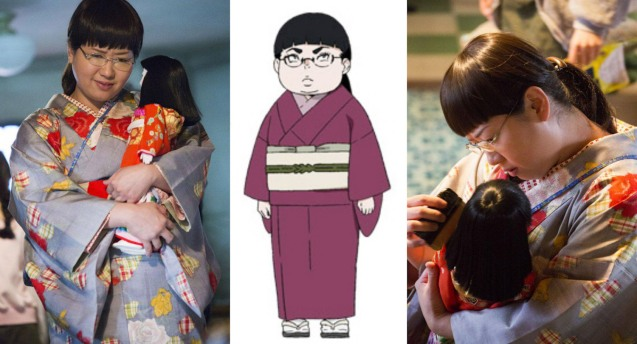 Azusa Babazono plays Chieko who loves kimonos and Ichimatsu Dolls. PRINCESS JELLYFISH is currently showing in RED by HBO. The hit movie premiered in the Philippines at Eiga Sai 2015 organized by Japan Foundation Manila at Shang Cineplex, Shang Rila Plaza Mall.