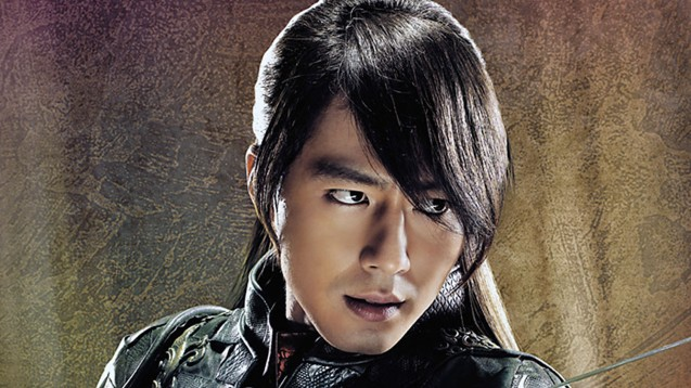 Zo In-Sung as Chief Hong Lim; A FROZEN FLOWER was part of the Korean Film fest held in Shang Cineplex, Shangri La Plaza Mall (2010).