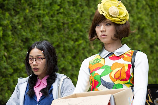 from left: Tsukimi (Rena Nounen) & Kuranosuke (Masaki Suda). PRINCESS JELLYFISH is currently showing in RED by HBO. The hit movie premiered in the Philippines at Eiga Sai 2015 organized by Japan Foundation Manila at Shang Cineplex, Shang Rila Plaza Mall.