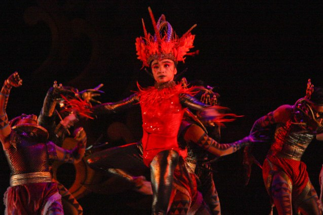 Jemima Reyes is in the title role of Firebird. Catch BP's FIREBIRD AND OTHER BALLETS at the CCP Main Theater from Aug 19-21, 2016. Photo by Jude Bautista