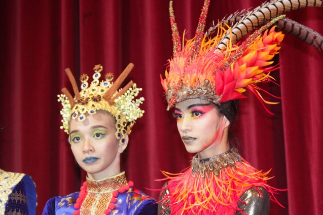 from left: Denise Parungao (Spice Princess) and Rita Angela Winder (Firebird). Catch BP's FIREBIRD AND OTHER BALLETS at the CCP Main Theater from Aug 19-21, 2016. Photo by Jude Bautista