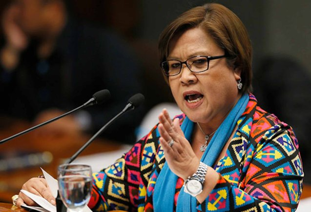 Senator De Lima is a victim of Duterte's 'criminalizing of political differences' in a similar way that Trump went after Hillary.