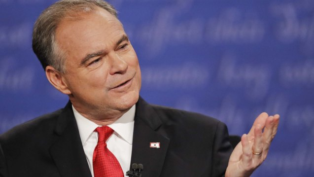 VP candidate Tim Kaine: If you can't distinguish between dictatorship and leadership you have to go back to the fifth grade.