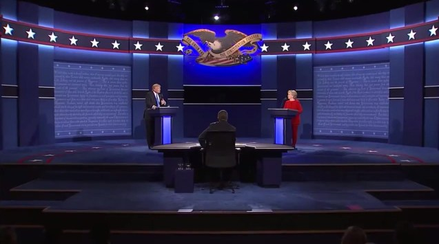 The first U.S. Presidential Debate for 2016 was held at Hofstra University, September 26, 2016.