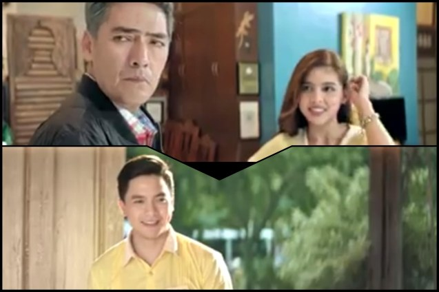 top: Vic Sotto with Maine Mendoza, bottom: Alden Richards in ENTENG KABISOTE 10 & THE ABANGERS. Before movie stardom Bossing was a hit maker / songwriter for VST & Co. whose songs became a soundtrack for a generation. Photo from: EK10 Youtube trailer https://youtu.be/Pcs7YyMj8xU