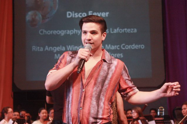 Markki Stroem; BP's AWITIN MO AT ISASAYAW KO will run from Dec 2-11, 2016 at the CCP Main Theater (Tanghalang Nicanor Abelardo). Photo by Jude Bautista