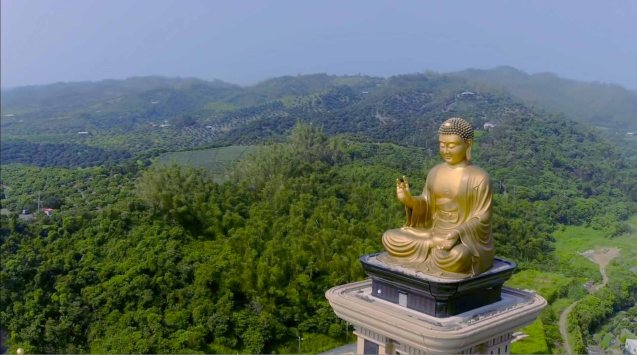 Fo Guang Big Buddha in the Fo Guang Shan Buddha Museum, Kaohsiung City, Taiwan. MANOPO 7: CHINOY opened last December 14, 2016 at a mall near you.