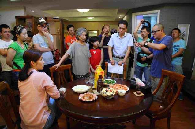 Director Xiaoshuai Wang (in blue) discusses scene with cast. Watch RED AMNESIA and other Chinese films for free at the Spring Film Fest from January 25-29, 2017 at the Shang Cineplex, Shangri La Plaza Mall. The annual Spring Film Festival is organized by the Ricardo Leong Center for Chinese Studies at the Ateneo De Manila University.