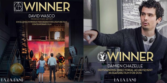 Prod Designers David Wasco and Sandy Reynolds-Wasco have earned several awards. Watch LA LA LAND in Shang Cineplex, Shang Rila Plaza Mall, Resort's World Manila, Lucky Chinatown Mall, Venice Piazza Mall and Eastwood City Mall.