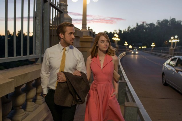Emma Stone (Mia) & Ryan Gosling (Seb)on the Colorado Street Bridge in Pasadena California, one of the many landmarks they shot in. Watch LA LA LAND in Shang Cineplex, Shang Rila Plaza Mall, Resort's World Manila, Lucky Chinatown Mall, Venice Piazza Mall and Eastwood City Mall.